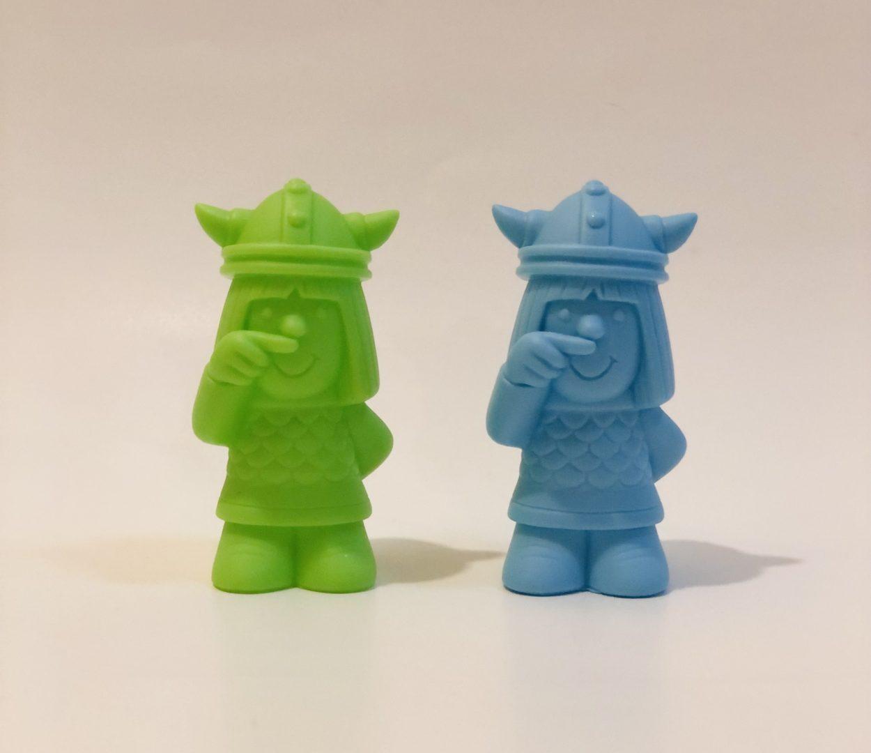 ソフビ指人形 ( 無塗装版 ) をアメイジング商店街で先行発売